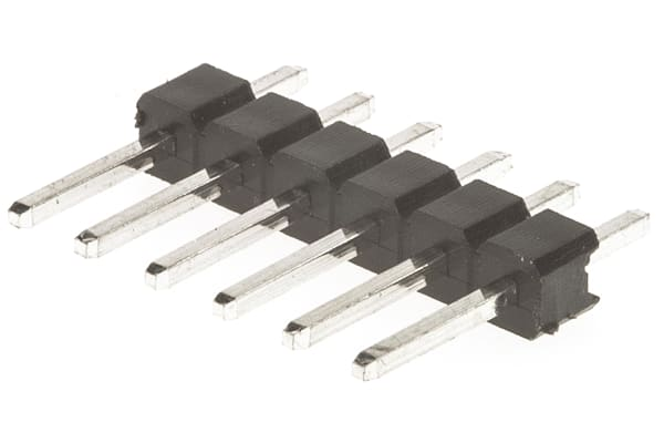 Product image for 06 SIL VERTICAL PIN HEADER