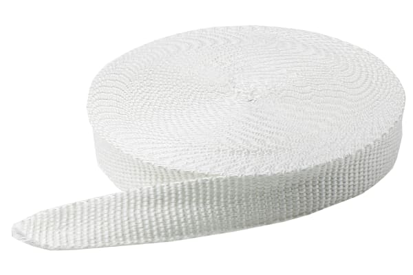 Product image for Woven glass webbing, 50mmx3mmx30m