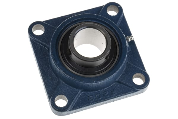 Product image for 4 Bolt Flange Bearing Unit 40mm