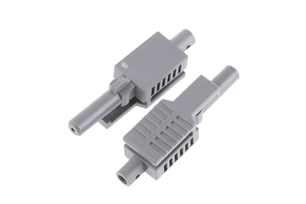 Product image for GREY SIMPLEX LATCH. CONNECTOR/CRIMP RING