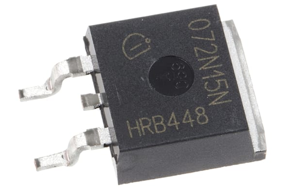 Product image for MOSFET N-Ch 150V 100A OptiMOS3 TO263