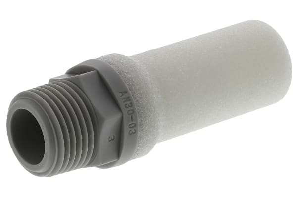 Product image for Compact silencer Resin R3/8