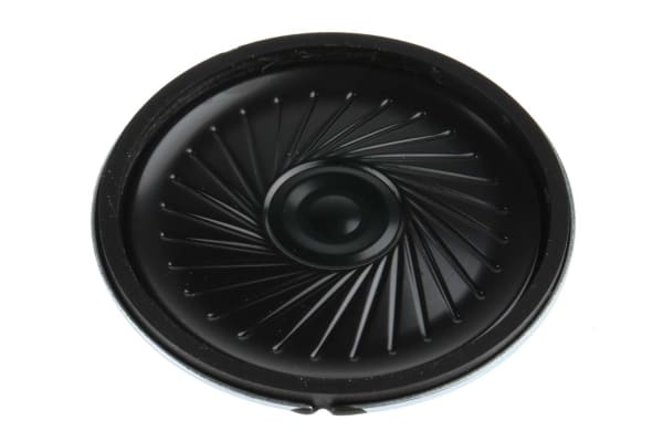Product image for Miniature speaker 32ohm 0.25W 45mm dia
