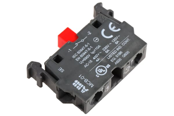 Product image for Contact Block 1NC