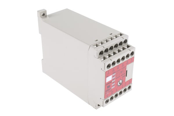 Product image for Expandable Relay,3PST-NO,7.5s off delay