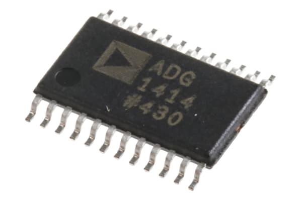 Product image for Octal SPST Switch 9.5Ohm SPI TSSOP24