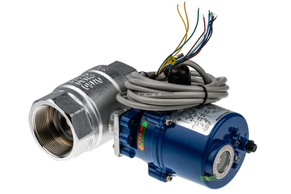 Product image for 2in. BSP Brass B/Valve w/ Elec.Actuator