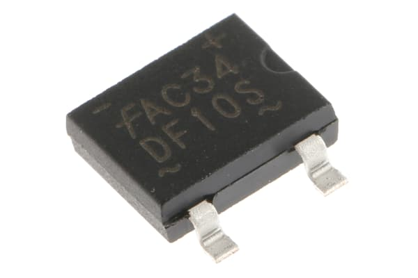 Product image for Diode Bridge Rectifier 400V 1.5A SDIP4