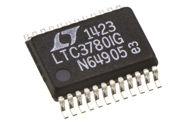 Product image for DC-DC CONTROLLER STEP-UP/DOWN 36V SSOP24
