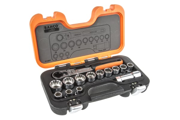 Product image for 14 pce Go Through Socket Set