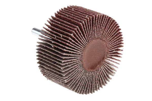 Product image for 3M Aluminium Oxide Flap Wheel, 60mm Diameter, P40 Grit
