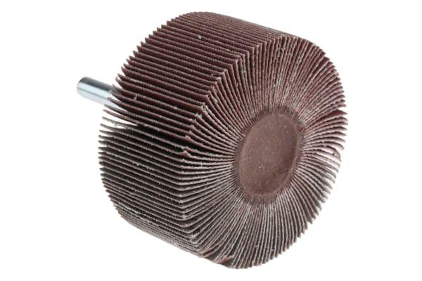 Product image for 3M Aluminium Oxide Flap Wheel, 60mm Diameter, P120 Grit