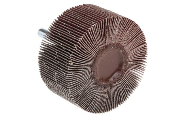 Product image for 3M Aluminium Oxide Flap Wheel, 60mm Diameter, P150 Grit