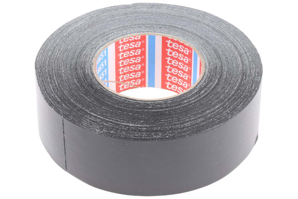 Product image for ACRYLIC CLOTH TAPE BLACK 50MX50MM