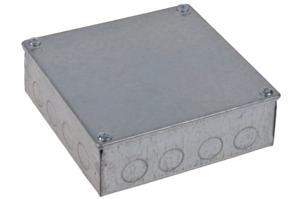 Product image for ADAPTABLE BOX 150X150X50MM PREGALVANISED