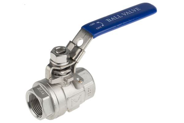 Product image for 2 pc S/steel Ball Valve,3/4in. BSPP F-F