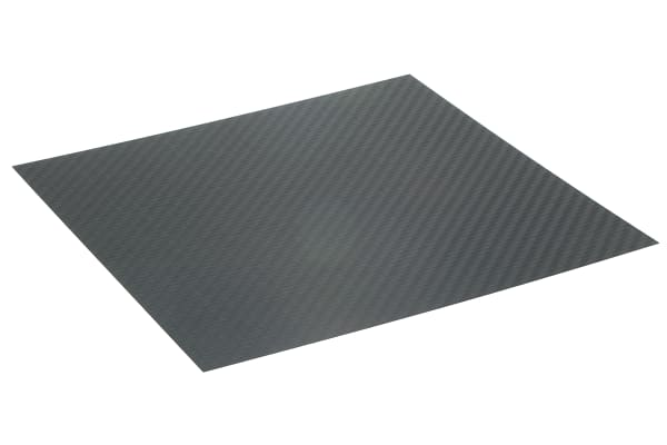 Product image for CARBON FIBRE EPOXY SHEET, 300X300X0.75MM