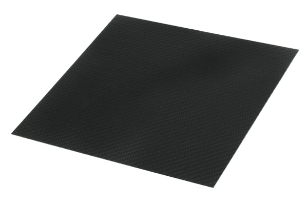 Product image for Carbon Fibre Epoxy Sheet, 300x300x1.3mm