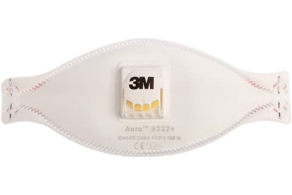 Product image for Aura 9332+ FFP3 Vlv Dust/Fume Respirator