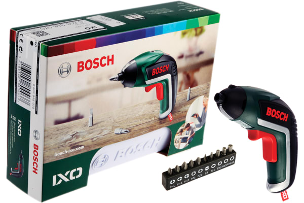 Product image for Bosch IXO V 3.6V, Cordless Electric Screwdriver, UK Plug