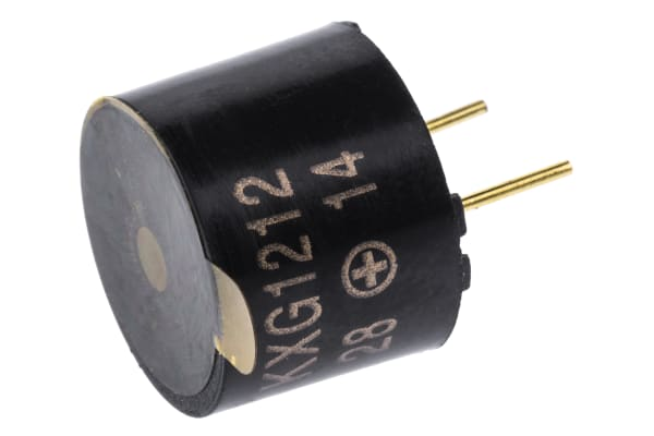 Product image for PCB continuous tone buzzer 12Vdc 85dB