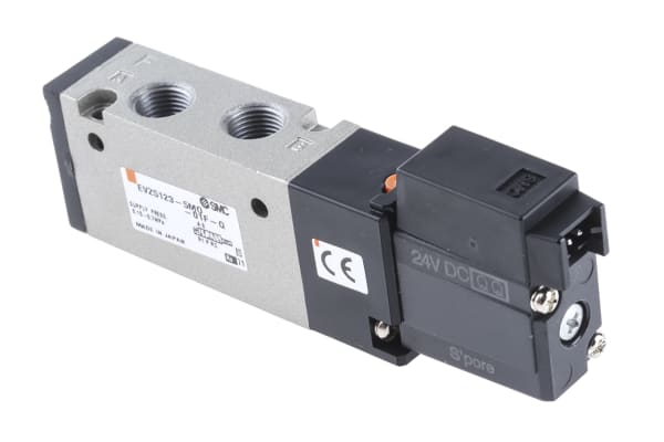 Product image for 3 Port Solenoid Valve, Body Ported