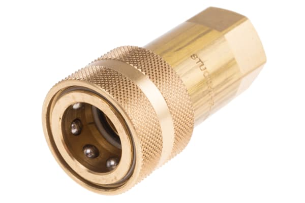Product image for Quick Connect ISO Coupling, 3/8in Female