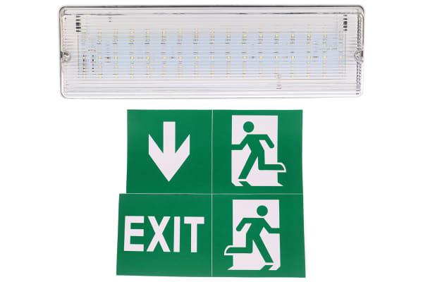 Product image for Knightsbridge LED Emergency Lighting, Bulkhead, 6 W, Maintained