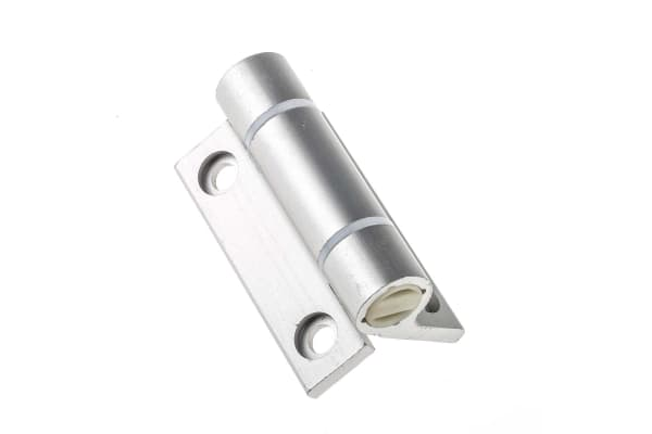 Product image for Clear spring hinge, 67x55x4.5mm