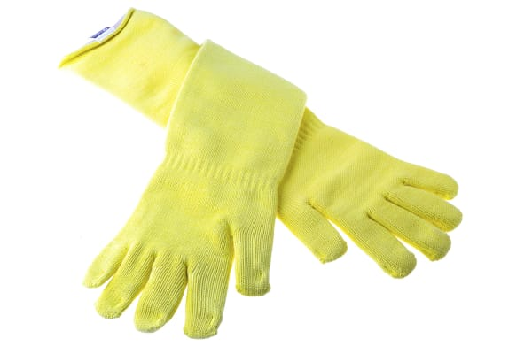 Product image for BM Polyco Volcano, Yellow Work Gloves, Size 11