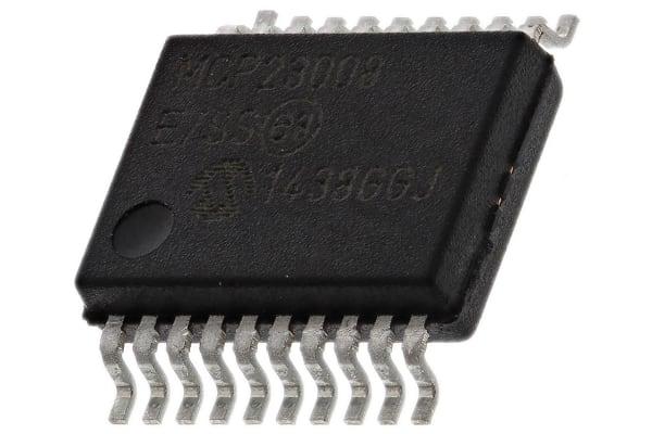 Product image for 8-Bit I/O Port Expander I2C 1.7M SSOP20