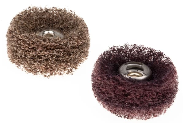 Product image for EZ SC ABRASIVE BUFFS COURSE AND MEDIUM
