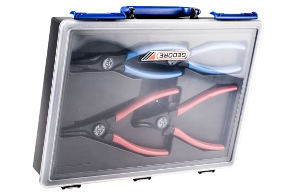 Product image for 4 Piece Circlip Plier Set