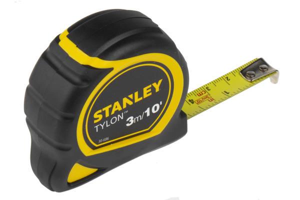 Product image for STANLEY TYLON TAPE MEASURE 3M