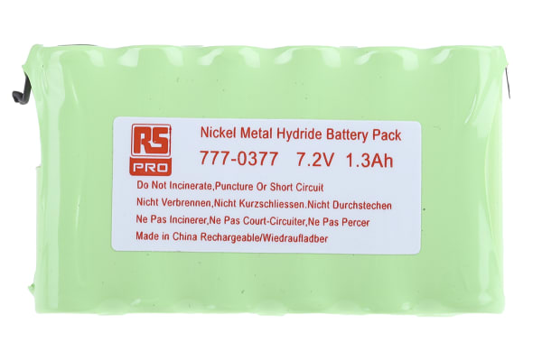 Product image for NiMH AA x 6 1300mAh 7.2V Pack