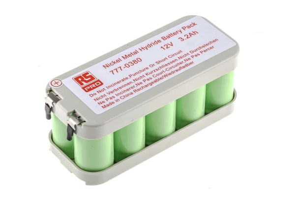 Product image for NiMH Cs x 10 3200mAh 12V Pack