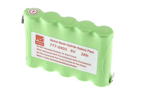 Product image for NiMH AA x 5 2000mAh 6V Pack