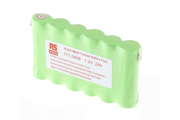 Product image for NiMH AA  x 6 2000mAh 7.2V Pack