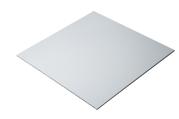 Product image for Alucore sheet 6mm, 600mm square