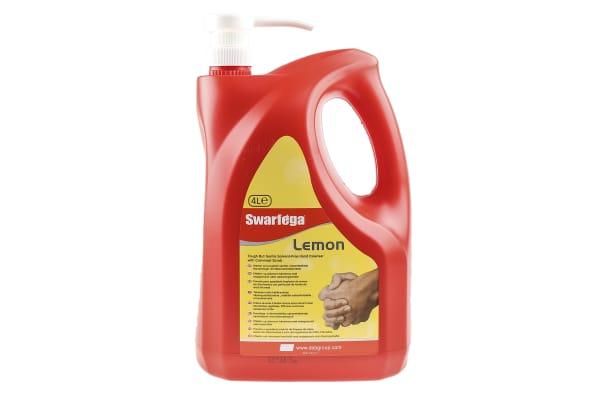 Product image for Swarfega Lemon Swarfega Lemon Hand Cleaner - 4 L Bottle