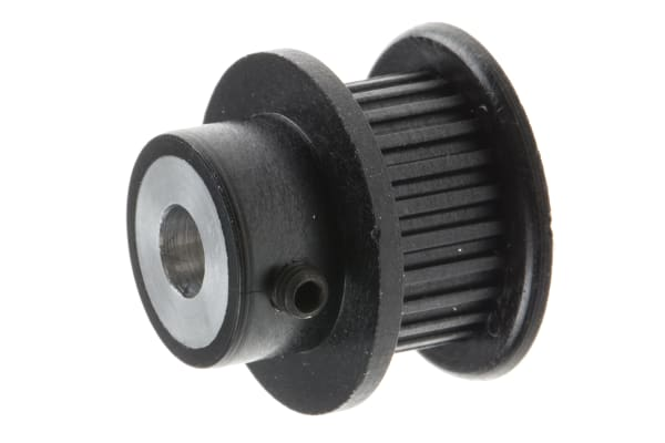 Product image for MXL Plastic Pulley with insert teeth 24