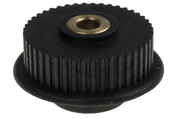 Product image for MXL Plastic Pulley with insert teeth 44