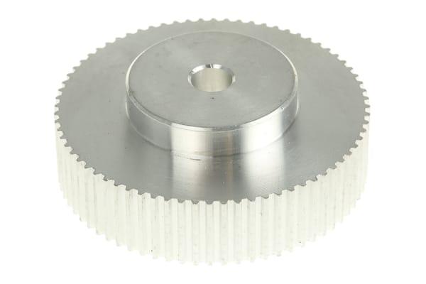Product image for MXL Aluminium Pulley teeth 72, bore 5mm