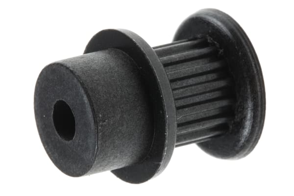 Product image for MXL Plastic Pulley teeth 16, bore 4mm
