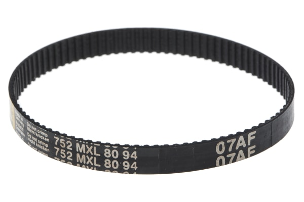 Product image for MXL Rubber Timing Belt W1/4, L 7.52 in.