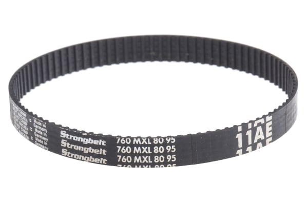 Product image for MXL Rubber Timing Belt W1/4, L 7.60 in.