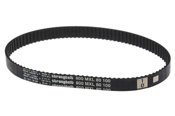Product image for MXL Rubber Timing Belt W1/4, L 8.00 in.