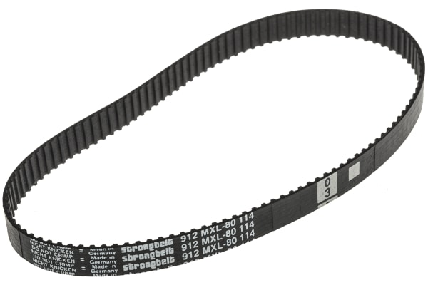 Product image for MXL Rubber Timing Belt W1/4, L 9.12 in.