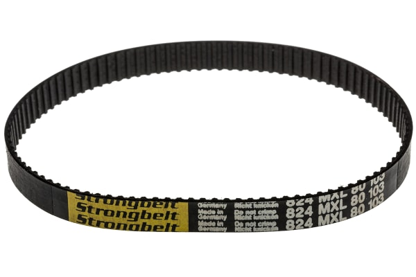 Product image for MXL Rubber Timing Belt W1/4, L 8.24 in.