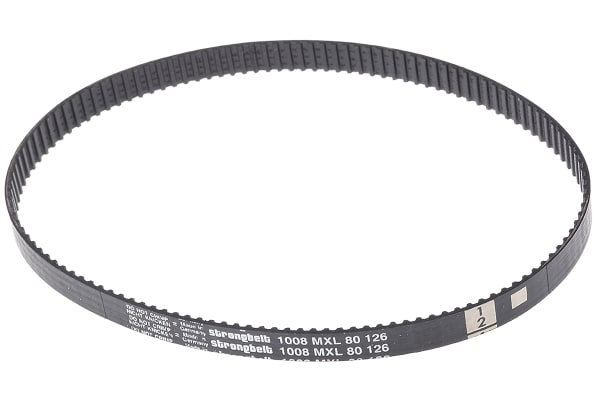 Product image for MXL Rubber Timing Belt W1/4, L 10.08 in.